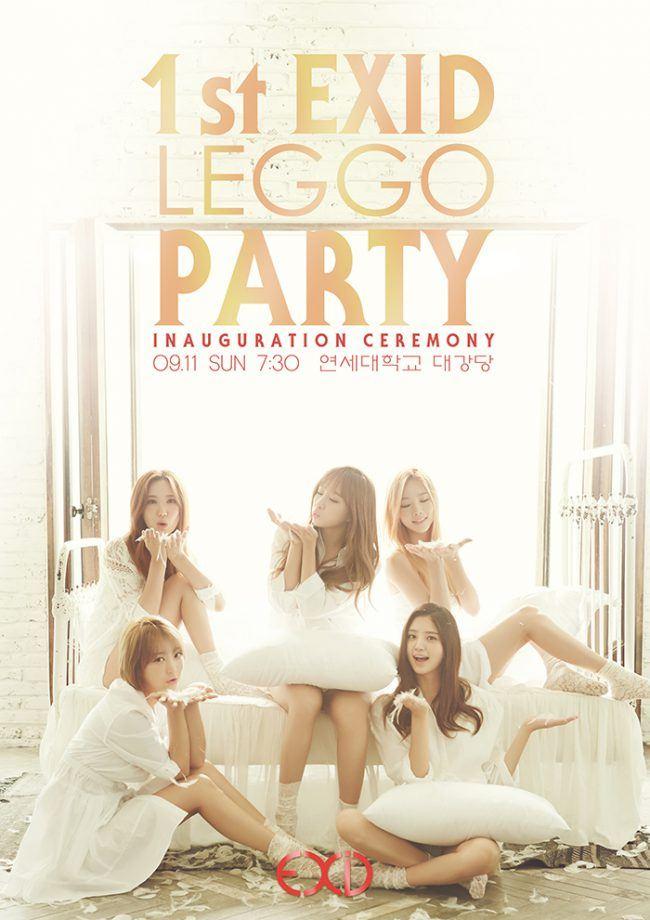 "Image: EXID ""1st EXID Leggo Party"" Poster / Banana Culture"