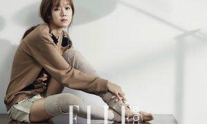 """Image: Gong Hyo Jin for """"Elle Korea"""""""