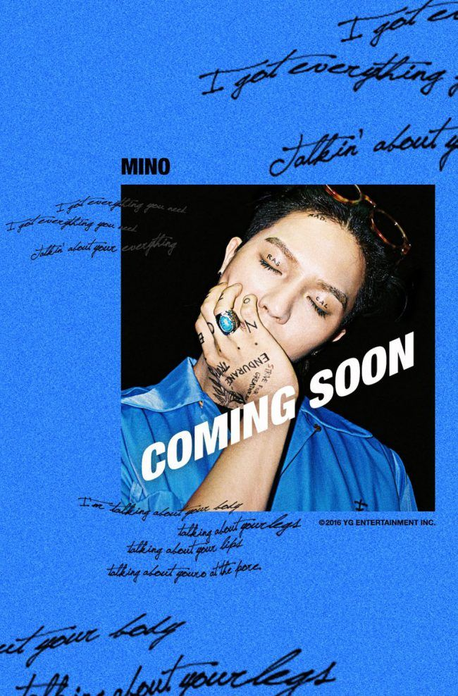 Image: WINNER Mino / YG Entertainment