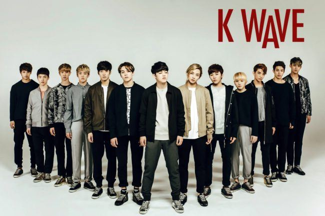 Seventeen photoshoot for K Wave magazine / Pledis Entertainment