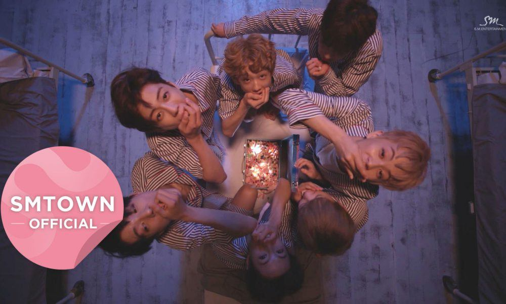 "Image: NCT Dream in the music video ""Chewing Gum"" / SMTOWN"