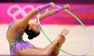 Son Yeon Jae at the 2012 Olympic Games in London