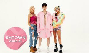 "Image: Triple T ""Born To Be Wild"" MV ft J.Y. Park, Hyoyeon, Jokwon and Min / SMTOWN"