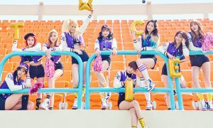 """Image: TWICE for their second EP """"Page Two"""" / JYP Entertainment"""