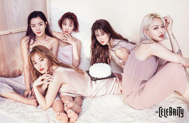 "SPICA for ""The Celebrity"" magazine"