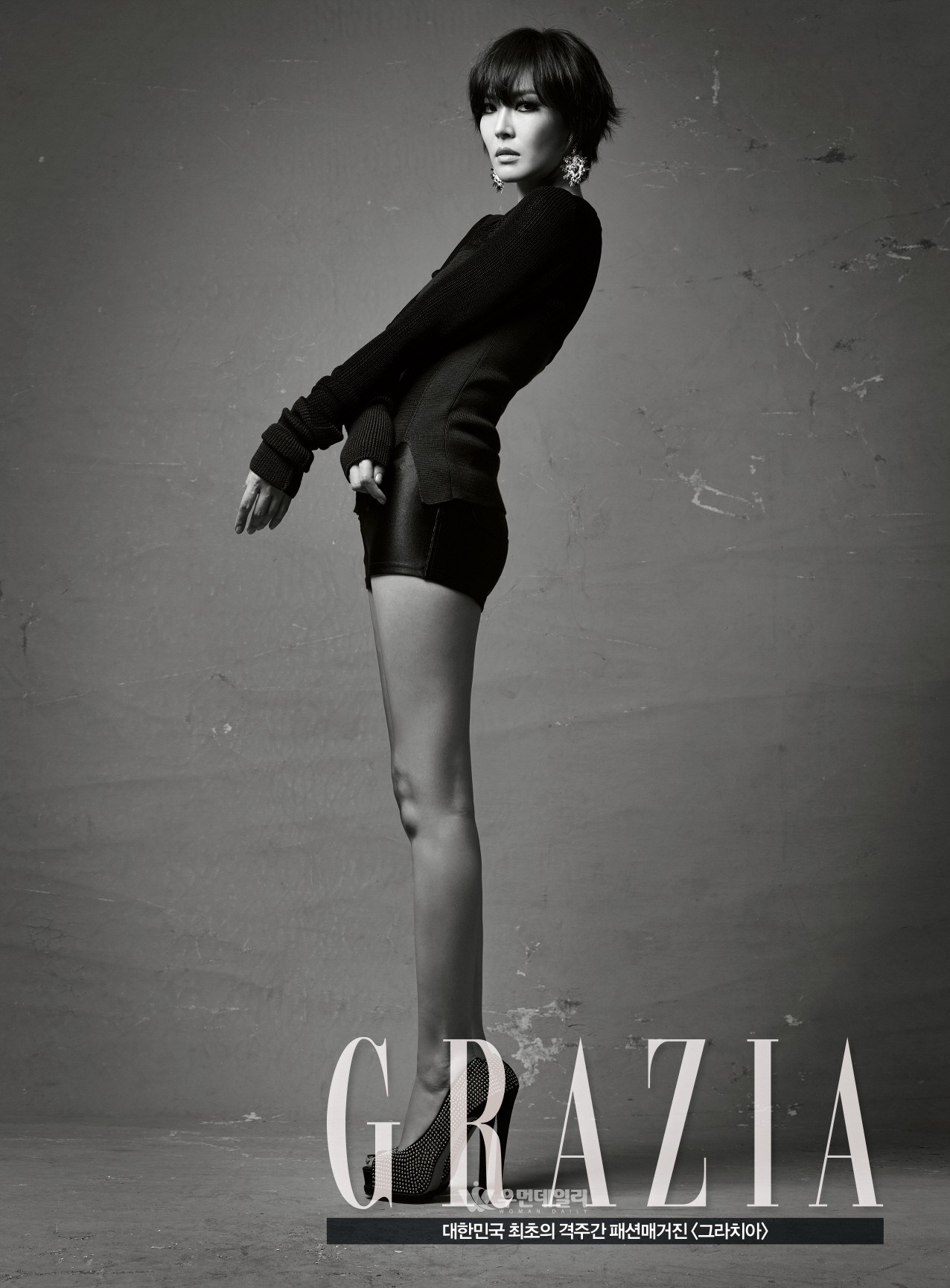 Actress Kim So Yeon for GRAZIA Korea Magazine. / Woman Sense