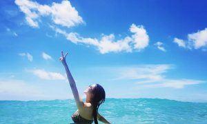 Seohyun's bikini in hawaii