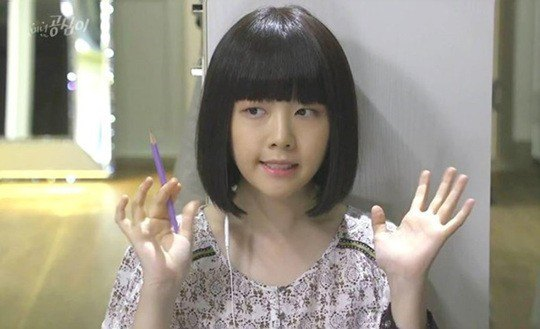Girl's Day's Minah in her recent SBS drama, Beautiful Gongshim. / Dispatch