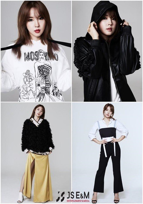 jiyoon solo agency profile shoot / JS Entertainment & Media Official Facebook