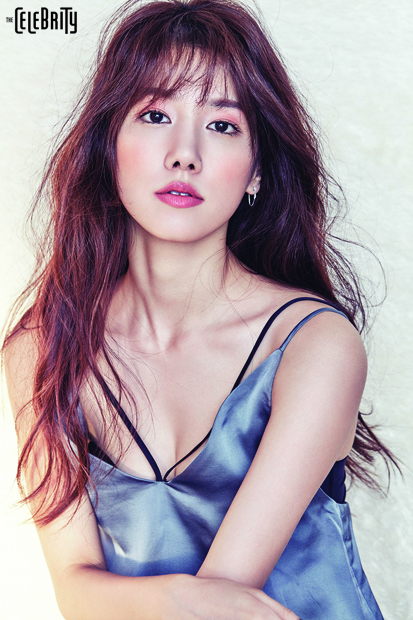 "SPICA's Yang Ji Won for ""The Celebrity"" magazine"