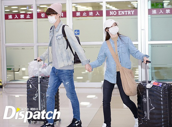 Ahn Jae Hyun and Goo Hye Sun / Dispatch