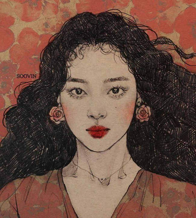 Sulli fan art