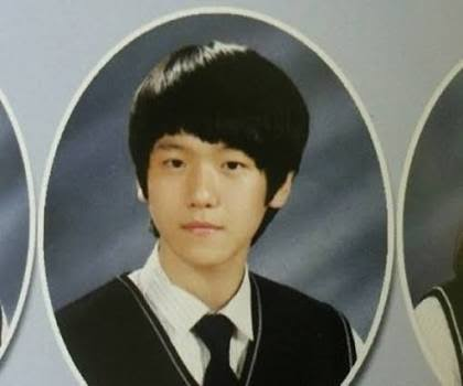 Image: EXO's Baekhyun school photo