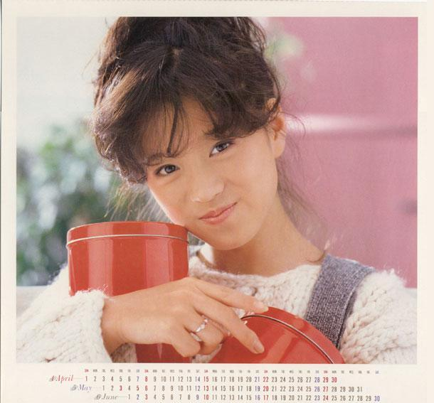 Legendary 1980's Japanese artist and idol, Nakamori Akina / Instiz