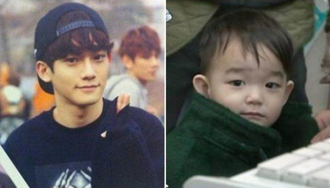Image: Similarities Between EXO's Chen and Lee Beom Soo's son, Da Eul / KMUSIC