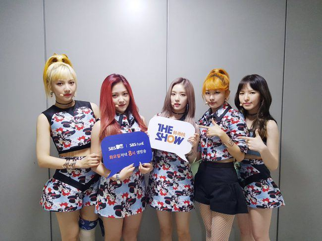 "Image: Red Velvet on SBS MTV ""The Show"" on September 20, 2016"