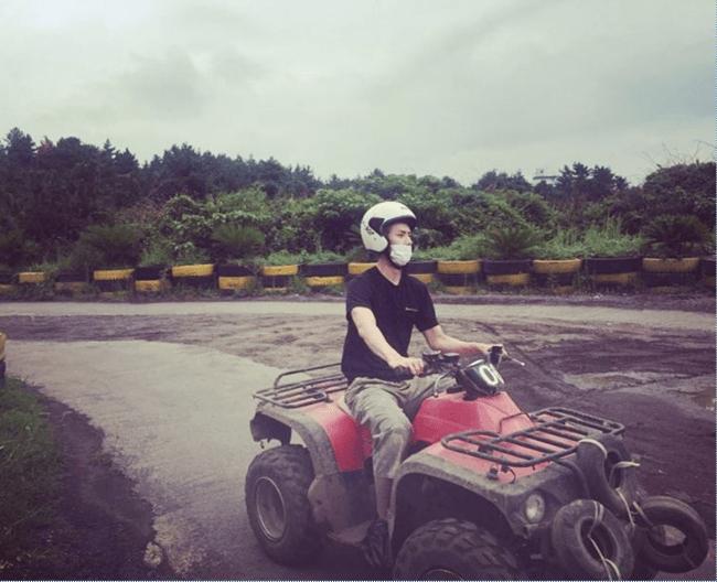 Sehun on ATV/ Sehun's Instagram