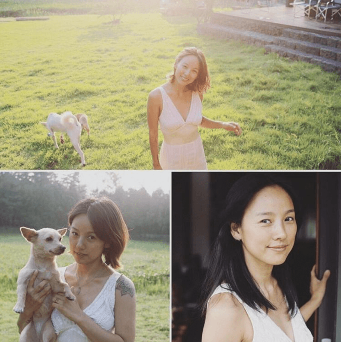 Lee Hyori's individual anniversary shots from the 1st, 2nd, and 3rd year photoshoots. / Instagram (@jin_and_min)