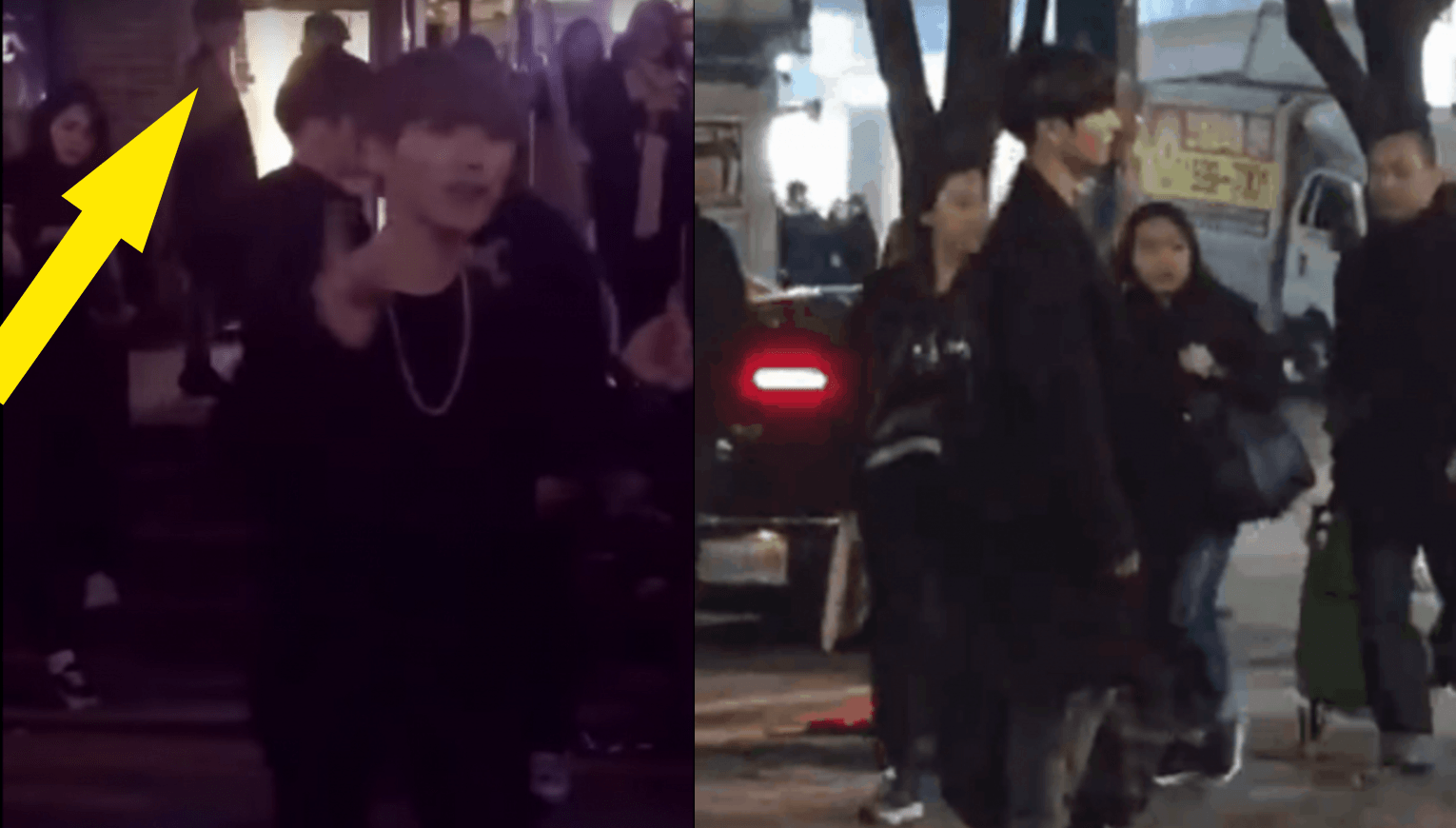 Taking Back Streets >> Jungkook Spotted Watching Street Dancers Cover BTS From The Shadows — Koreaboo