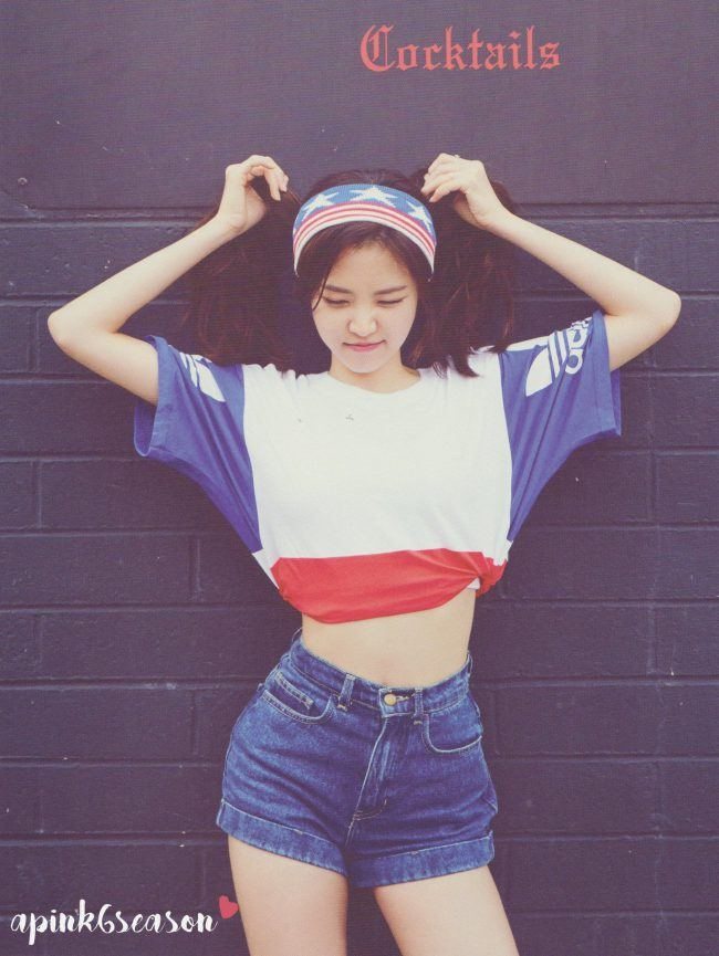 Apink Son Naeun transforms into an American beauty at the ...