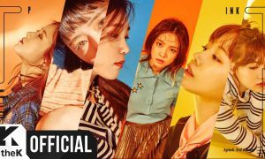 """Image: Cover video image for Apink's """"Pink Revolution"""" audio teaser / 1theK, Plan A Entertainment"""