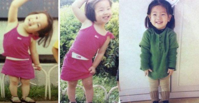 TWICE's Dahyun (Childhood photo)/ Dispatch