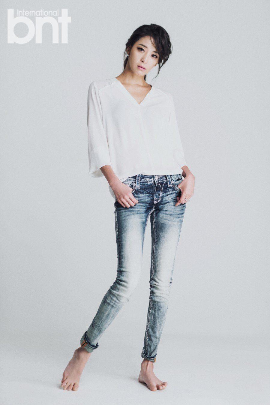 Model-actress Han Go Eun for International BNT Magazine. / Han Cinema