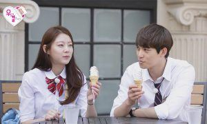 """Image: Gong Seung Yeon, CNBLUE's Lee Jong Hyun on MBC """"We Got Married"""""""