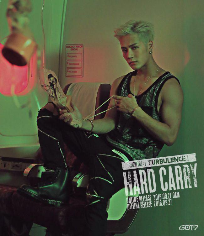"Image: GOT7 Jackson for ""FLIGHT LOG: TURBULENCE"" EP / JYP Entertainment"