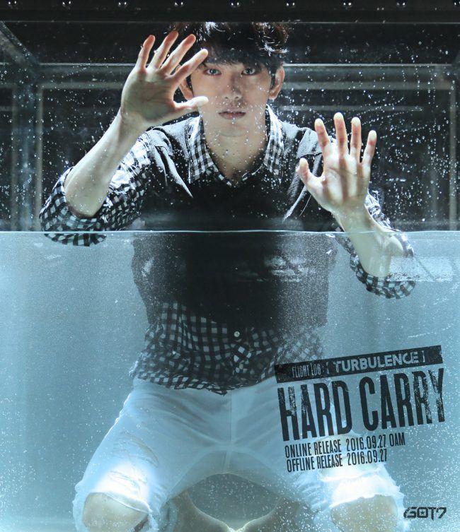 "Image: GOT7 Jinyoung for ""FLIGHT LOG: TURBULENCE"" EP / JYP Entertainment"