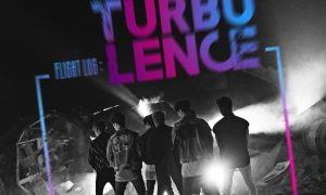 "Image: GOT7's album jacket for studio album ""Turbulence"" / JYP Entertainment"