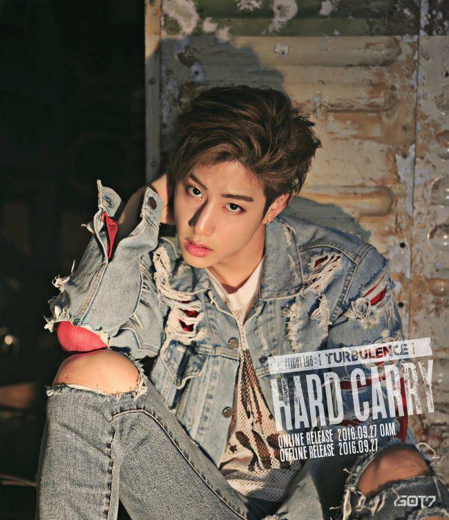 "Image: GOT7 Mark for ""FLIGHT LOG: TURBULENCE"" EP / JYP Entertainment"