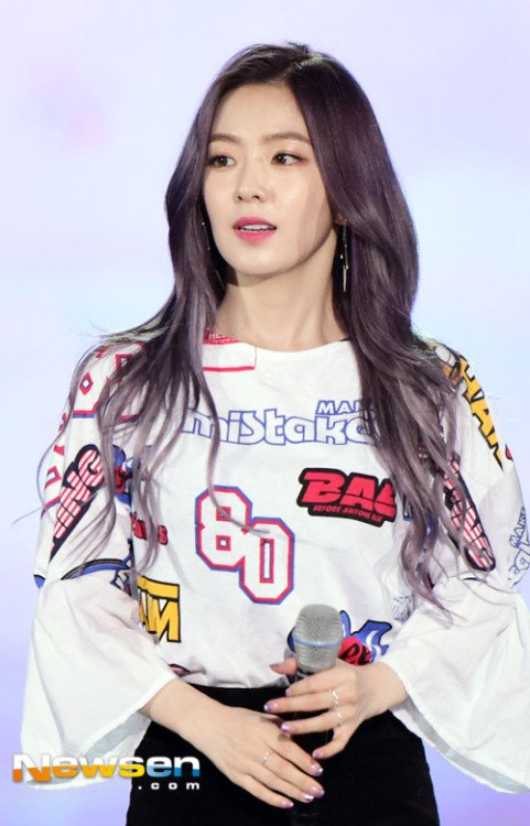 Red Velvet39s Irene Blows Fans Away With Stunning New Silverpurple Hairst