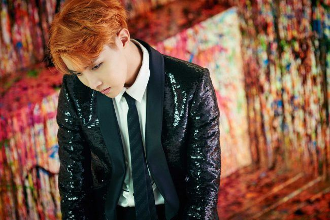 "Image: BTS' J-Hope teaser image for ""WINGS"" / Big Hit Entertainment"