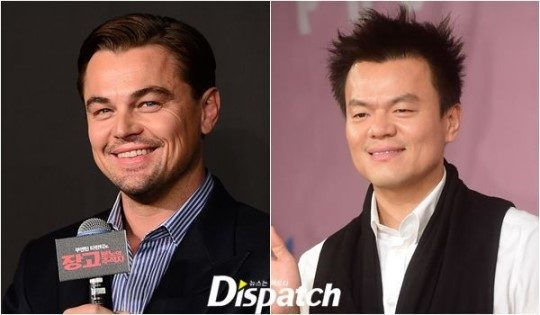 Leonardo DiCaprio and Park Jin Young/ Dispatch