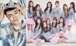 Image: J.Y. Park and I.O.I / JYP Entertainment, YMC Entertainment