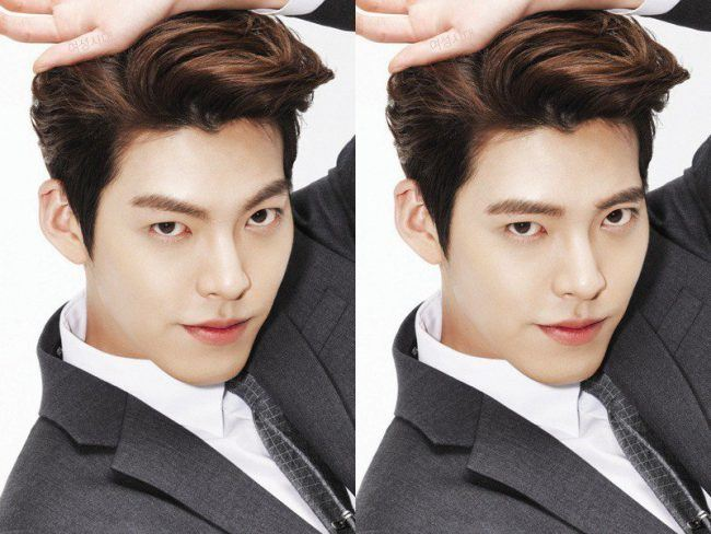 Fans Photoshop Korean Celebrities Eyebrows To Show How A Simple
