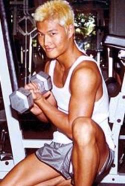Kim Jong Kook gym photo