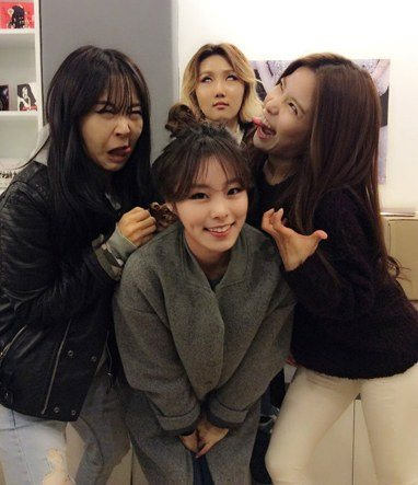 MAMAMOO (Silly photos)/ Pann