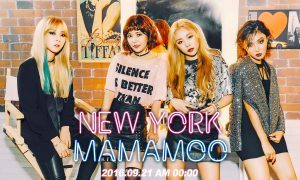 """Image: Group concept photo of MAMAMOO for """"New York"""" single / RBW"""