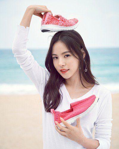 Min Hyorin (Birth name: Jung Eun Ran)/ Instiz