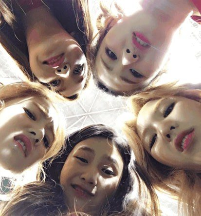 Red Velvet (Silly photos)/ Pann