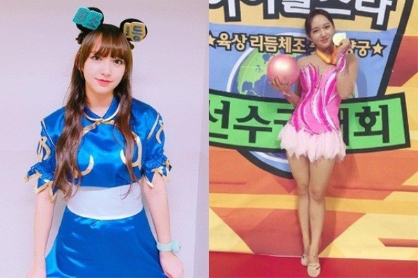 Cosmic Girl's Cheng Xiao at the 2016 Chuseok Special Idol Star Athletes Championships / Herald Corp