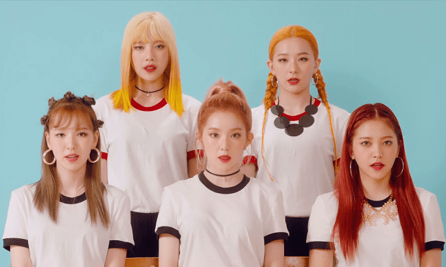 "Red Velvet debuted in 2014 with ""Happiness"""