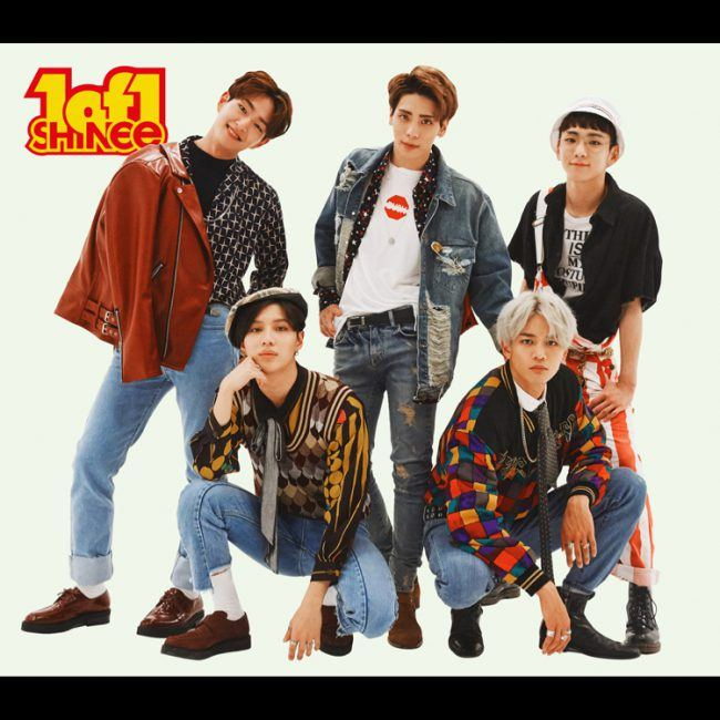 "Image: SHINee group photo for album ""1of1"" / SM Entertainment"