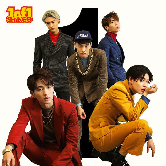 "SHINee for 5th studio album ""1 of 1"" / Image Source: SM Entertainment"