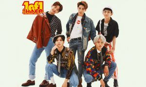 """Image: SHINee group photo for album """"1of1"""" / SM Entertainment"""