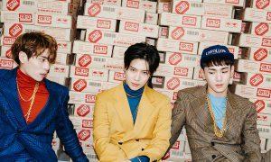 "SHINee's Jonghyun, Taemin, Key group photo for album ""1 of 1"""