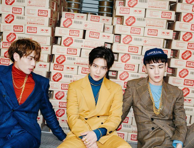 "SHINee's Jonghyun, Taemin, Key group photo for album ""1 of 1"""