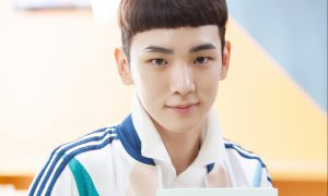"""Image: SHINee's Key holding up his script for the tvN drama """"Drinking Solo"""" / tvN"""
